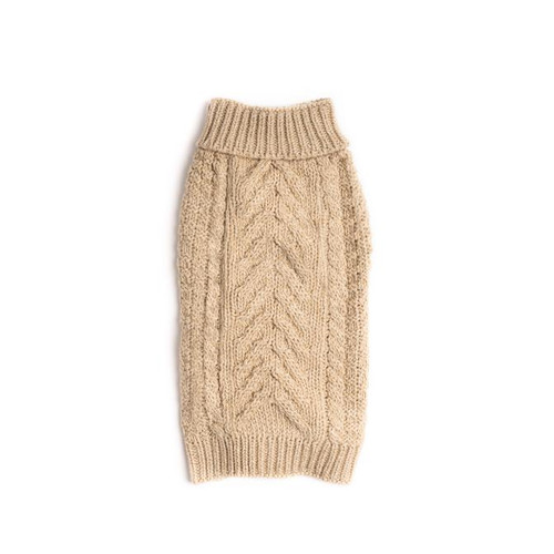 chunky oatmeal sweater