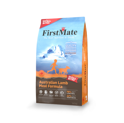 FirstMate Grain Free Lamb Small Bites - 5 lb Dog