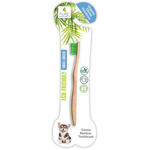 Bamboo Dog Toothbrush -S