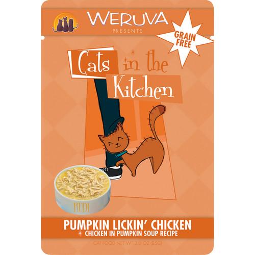 Weruva Cats in the Kitchen 3oz Pouch Pumpkin Lickin' Chicken