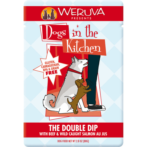 Weruva Dogs in the Kitchen 3oz Pouch Double Dip