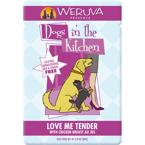 Weruva Dogs in the Kitchen 3oz Pouch Love Me Tender