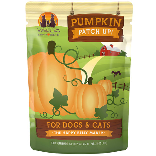 Weruva Pumpkin Patch Up! Pouch