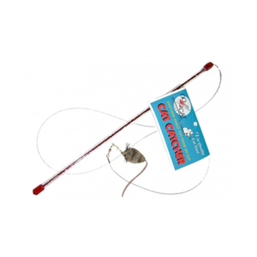 Go Cat Cat Catcher Mouse Wand