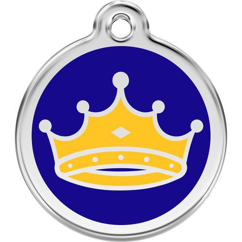 Red Dingo Enamel King Crown