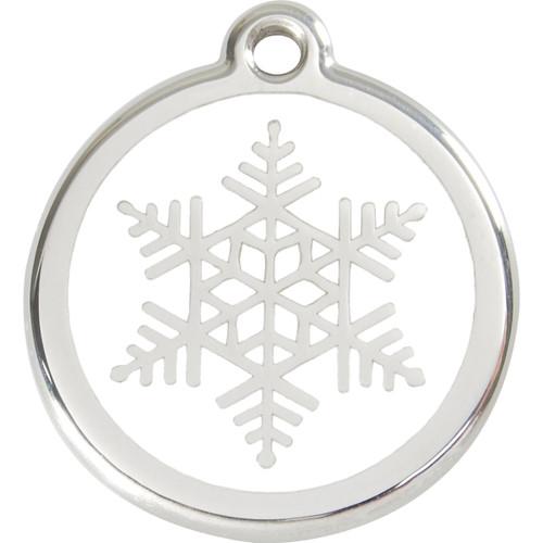Red Dingo Enamel Snowflake
