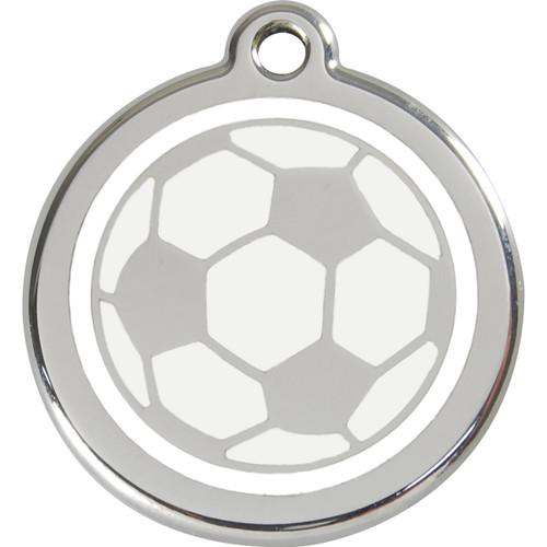 Red Dingo Enamel Soccer