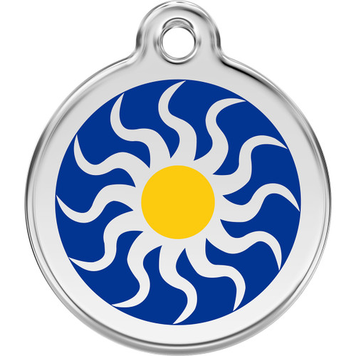Red Dingo Enamel Tribal Sun