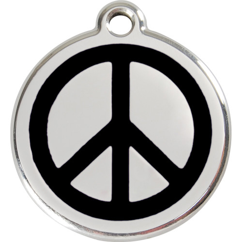 Red Dingo Enamel Peace