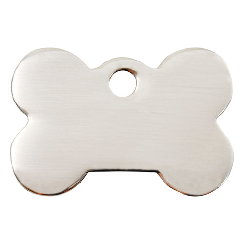 Red Dingo Flat Tag Bone