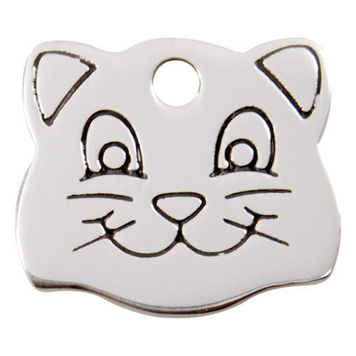 Red Dingo Flat Tag Catface
