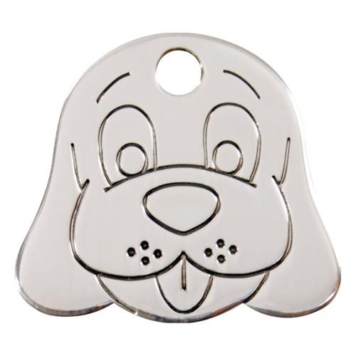 Red Dingo Flat Tag Dogface