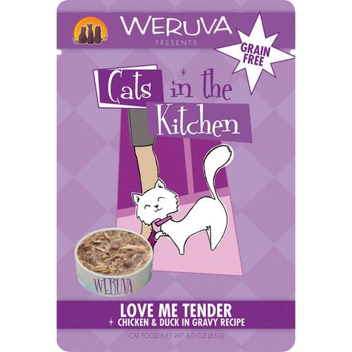 Weruva Cats in the Kitchen 3oz Pouch Love Me Tender
