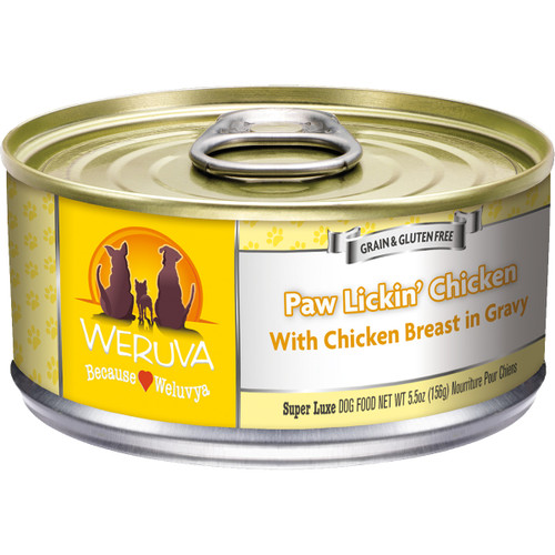 Weruva 5.5oz Paw Lickin' Chicken