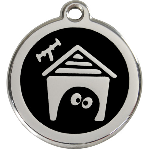 Red Dingo Enamel Tag Dog House
