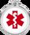 Red Dingo Medical Alert Tag