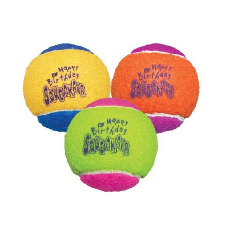 Kong AirDog Squeakair Birthday Balls
