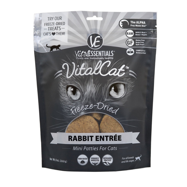 Vital Cat  Rabbit Mini Patties