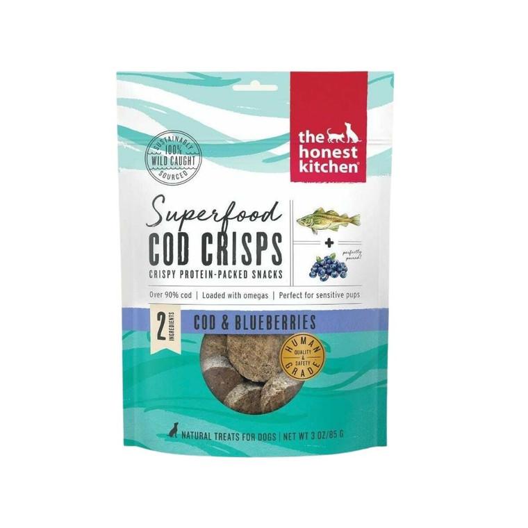 Honest Kitchen Cod & Blueberry Crisps