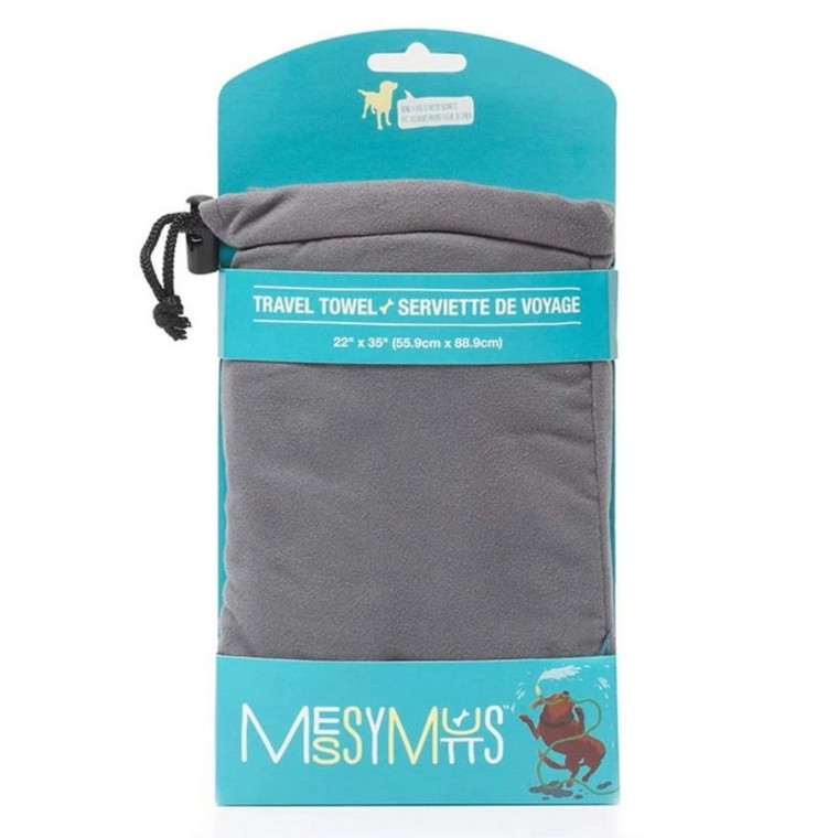Messy Mutts Microfiber Towel Large