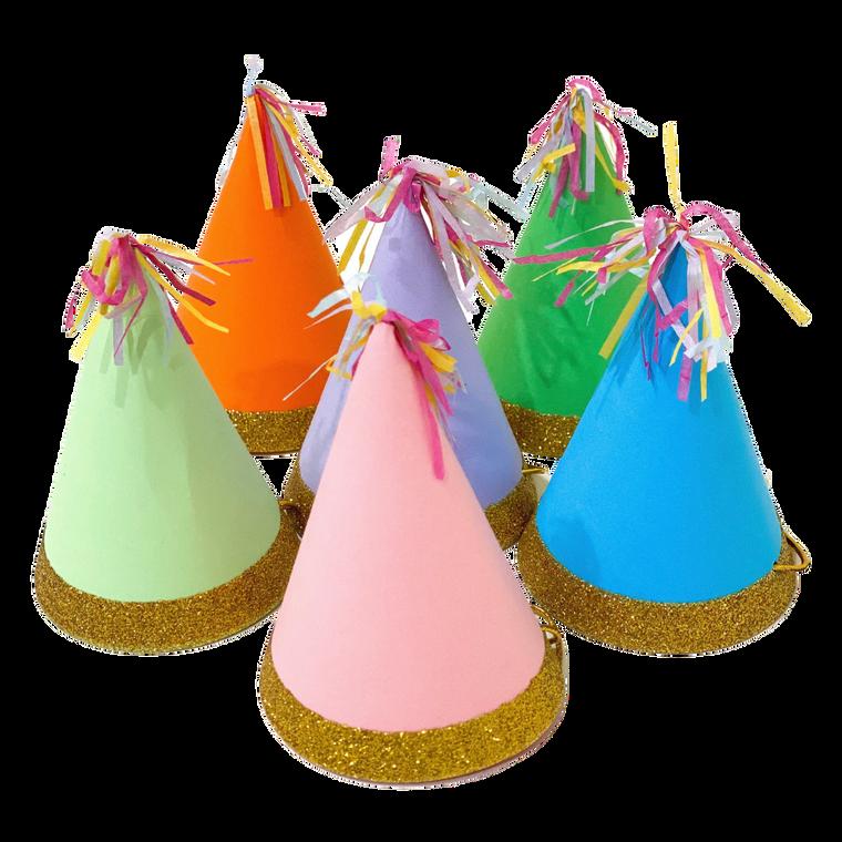 Birthday Hats 6-pack
