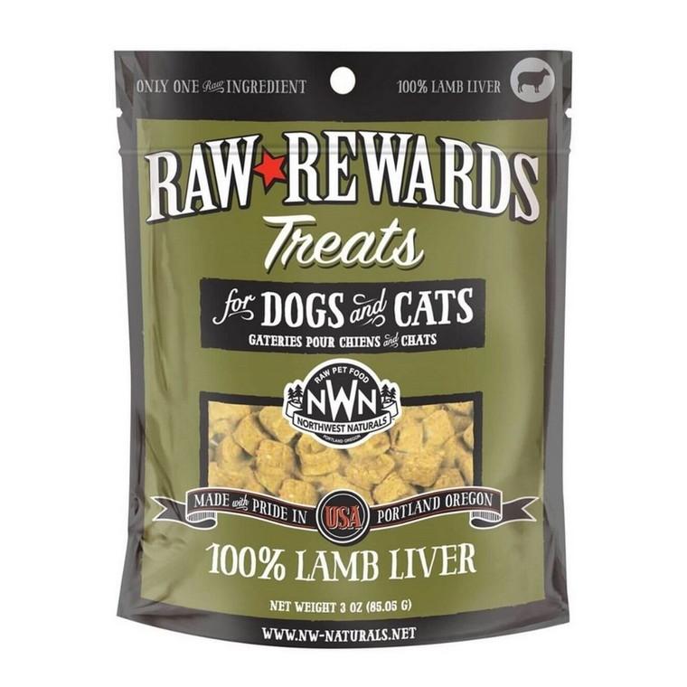 Northwest Naturals Lamb Liver Dog & Cat Treats