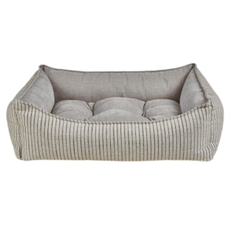 Bowsers Scoop Bed - Augusta Ticking