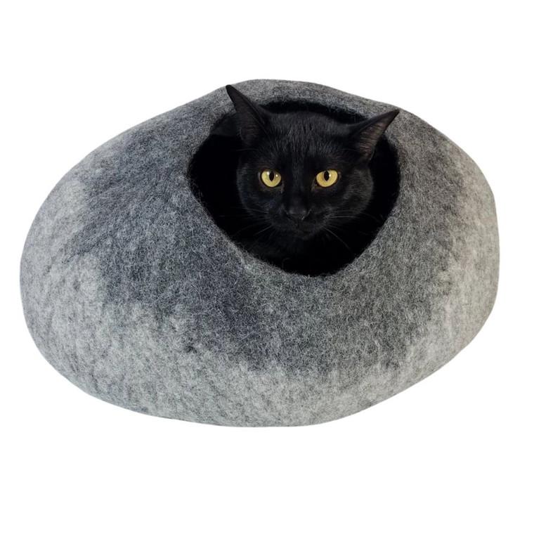 Walking Palm Light Gray/Dark Gray Cat Cave