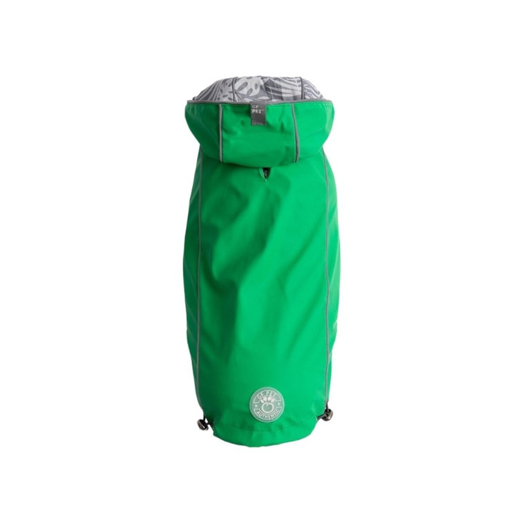 GF Pet Reversible Elasto-Fit Raincoat Green