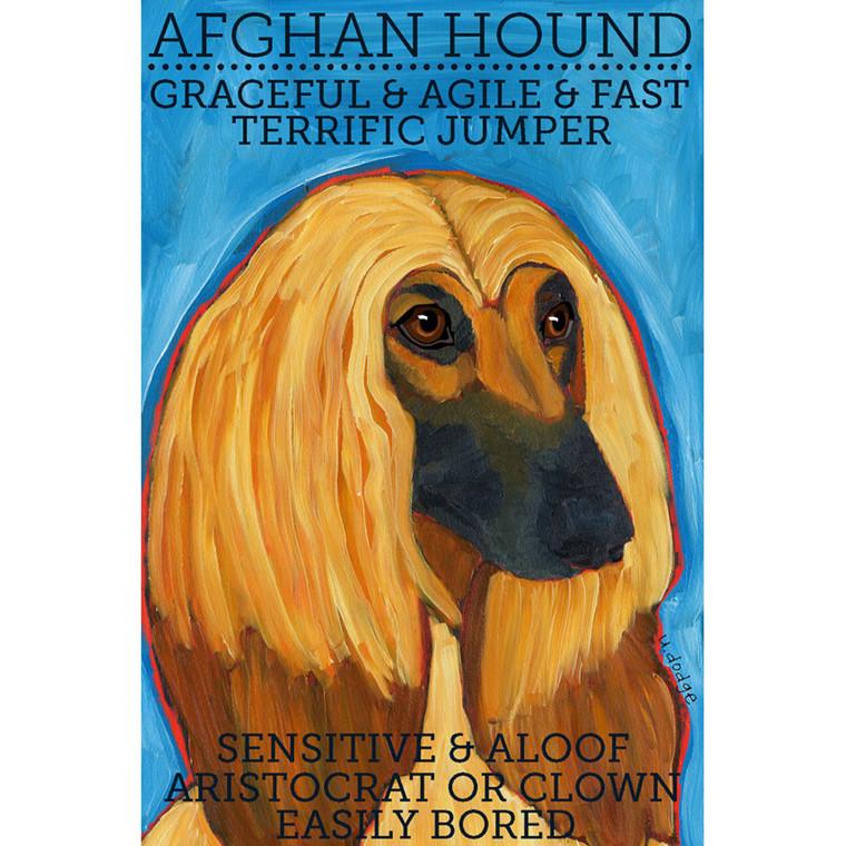 Ursula Dodge Afghan Hound Magnet