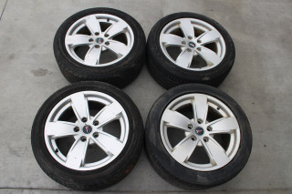 2004-06 Pontiac GTO 17x8 Silver OEM GM Factory Wheels, SET USED