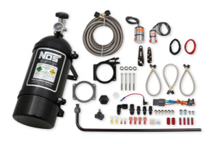 90/92MM GM LS Wet Nitrous System w/4 Bolt Drive By Wire Throttle Body, NOS