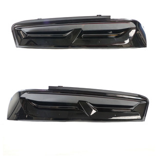 2016-19 Camaro SS ZL1 Factory LED Rear Tail Lights Pair - Smoked, OEM GM