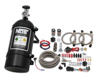 2006-17 GM 3.5L-3.9L/4.8L-6.2L V8 Single Fogger Wet Nitrous System, NOS