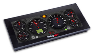 """Touch Screen Digital Dash w/12.3"""" Viewing Area, Holley EFI"""