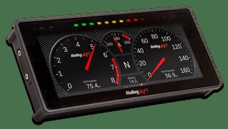 """Touch Screen High Resolution Digital Dash w/6.86"""" Screen, Holley EFI"""