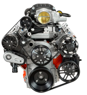 Chevy LS Victory Series Kit for Supercharger, Alternator, A/C and Power Steering - Magnuson