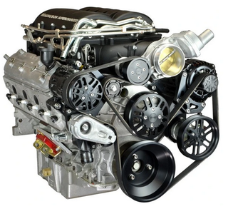Chevy LS Victory Series Kit for Supercharger, Alternator, A/C and Power Steering for Magnuson Heartbeat