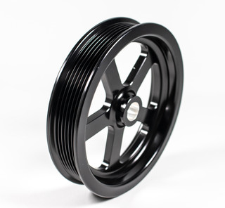 2010-12 Camaro 6.2L V8 LS3/L99 Billet Aluminum Black Power Steering Pulley
