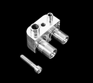GM Gen V L86/L82/L83 Engine Swap Conversion A/C Line Compressor Adapter Fitting