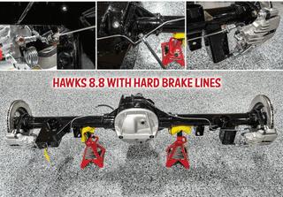 82-02 F-Body Hawks 8.8 Hard Brake Lines