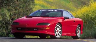 82-2002 Camaro Headlight Covers, Smoke, pair