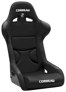 Corbeau FX1 PRO Seat, Available in Black/Black, Black/Red-SOLD INDIVIDUALLY