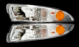 93-2002 Camaro Euro Style Front Park Lamp, Clear
