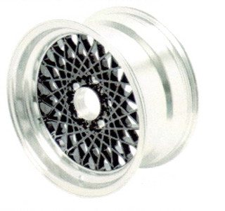 82-92 Firebird 16x8 GTA Factory Reproduction Wheel, Black- Rear, sold per each, 16mm offset