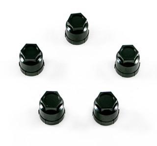 82-2002 Camaro / Firebird Black Wheel Lug Nut Plastic Cap, Lug Nut Caps Set of 5