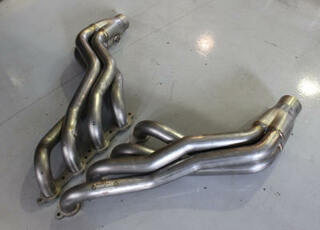 """82-92 Camaro/Firebird LSX Conversion Stainless 1-7/8"""" Primary Long Tube Headers w/ 3"""" Slip Fit Collector, HAWKS"""