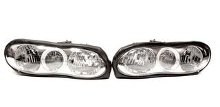 98-2002 Camaro Halo Headlights, Pair, CHROME