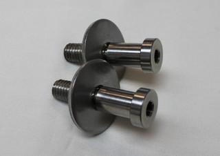 70-81 & 82-92 Camaro/Firebird Stainless Steel Door Strikers Pair