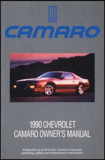 Owner's Manual, 82-2002 Camaro & Firebird